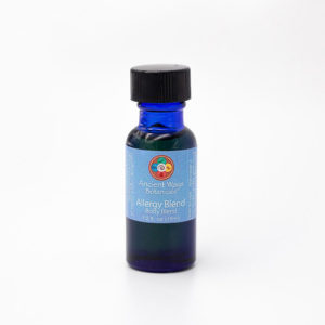 1/2 oz bottle of allergy relief body blend