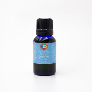1/2 bottle of Oneness aromatherapy body blend