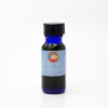 1/2 oz blue vial of Embracing Love Aromatherapy body blend