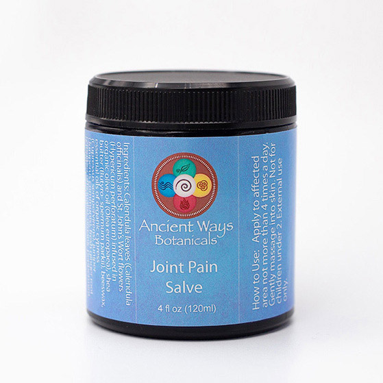 4 ox jar of Ancient Ways joint care salve