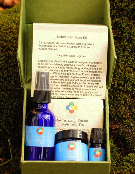 Natural Skin Care Kit