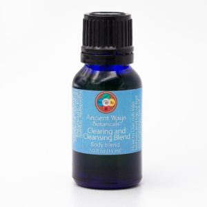 Clearing aromatherapy blend bottle