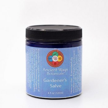 4 oz jar of Gardeners Salve