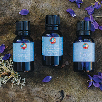 Three hot sale aromatherapy bottles from Ancient Ways Botanicals