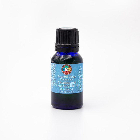 1/2 oz Clearing and Cleansing aromatherapy blend