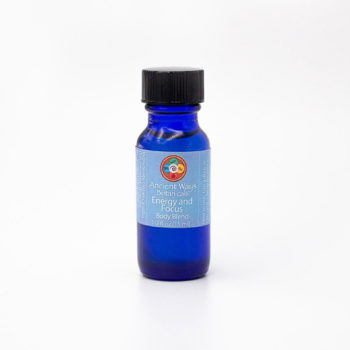1/2 oz Energy and Focus aromatherapy blend