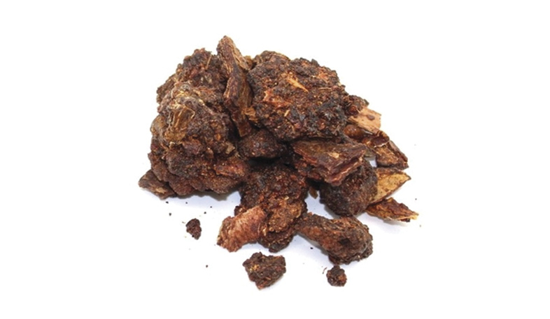 Pile of Myrrh used in essential ouls