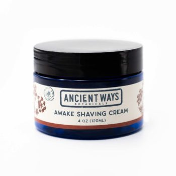 Shaving Cream 4 oz jar by Ancient Ways Botanicals