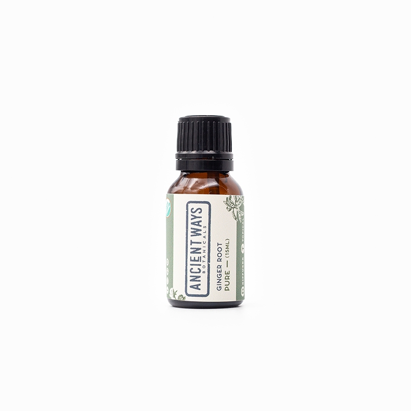 Single 15ml Pure Ginger Root